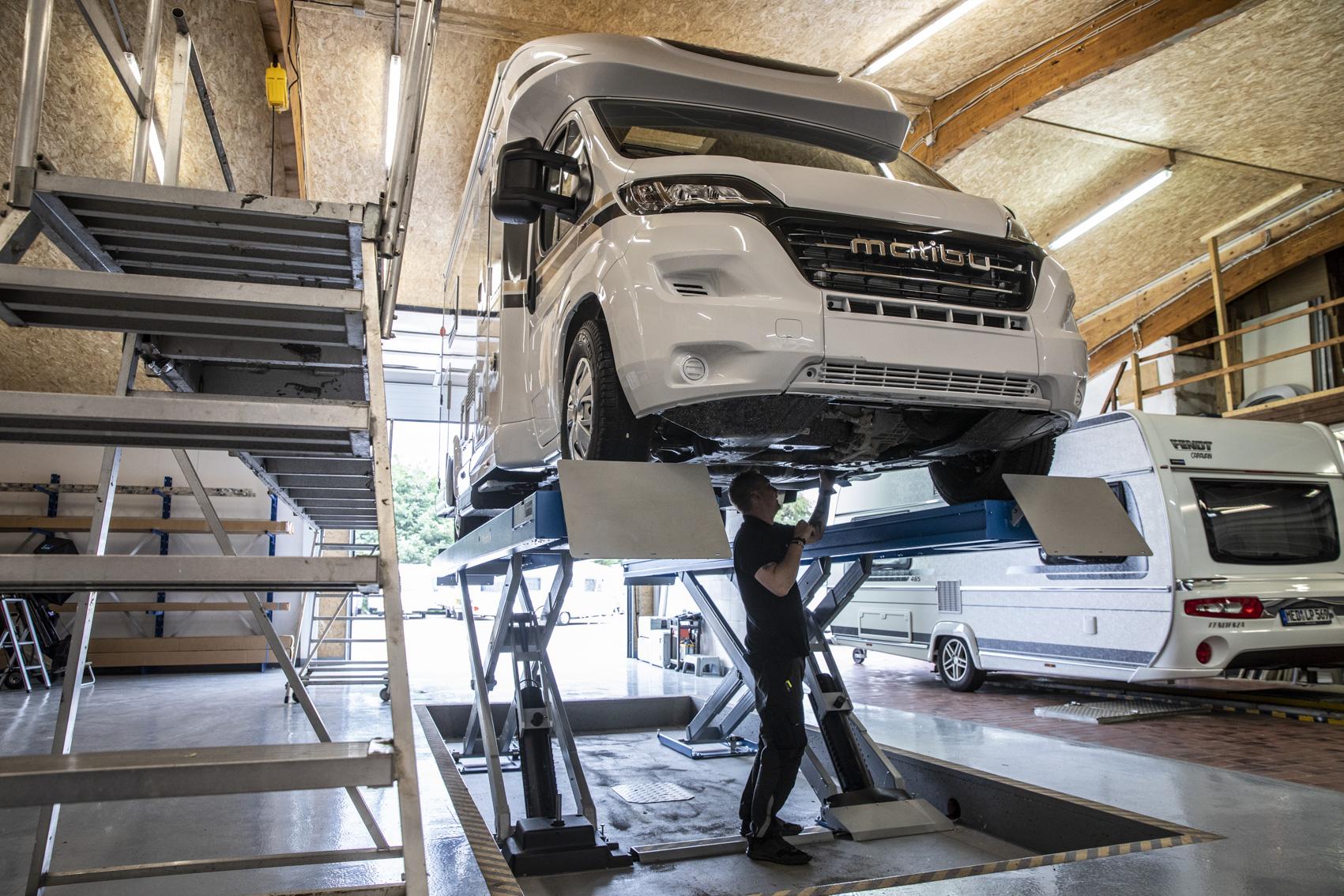 Bremsenprüfungen und -instandsetzungen